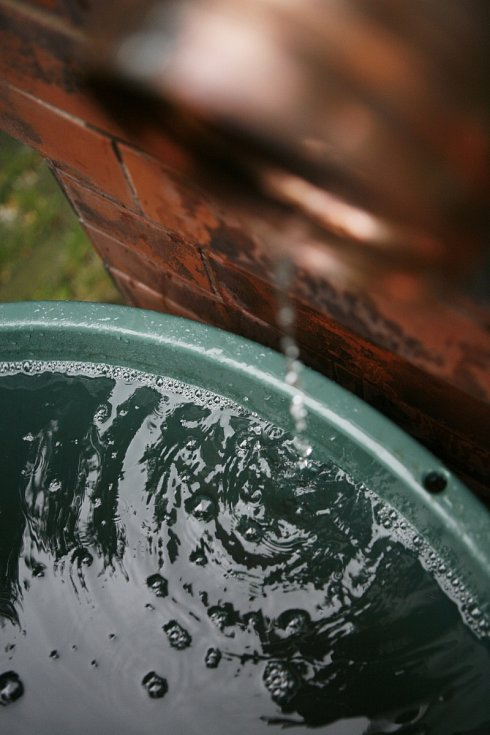 Dešťová voda. Ilustrační foto.
