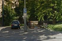 Podchod u Ostrčilova náměstí.
