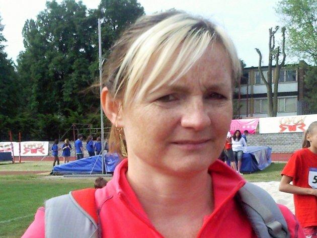 Dana Hortová, pořadatelka Odznaku všestrannosti olympijských vítězů v Praze 9 a 14.