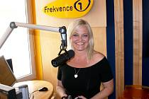 Markéta Mayerová jako moderátorka rádia Frekvence 1.