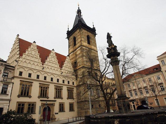 Novoměstská radnice v Praze.