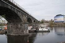Prohlídka opravy Negrelliho viaduktu. 2.11.2017