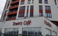 Pekařství a kavárna v projektu Prague Towers v pražských Stodůlkách.