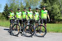 Cyklotým policie v akci