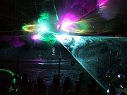 Slavnostní otevření největší laserové vodní show v ČR v Aguapalace Praha 14.března.