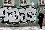 Graffiti v Praze 3.
