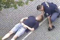 Epileptikovi pomohli strážník a svědkyně. Ilustrační foto.