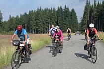 Cyklisté v Brdech. Ilustrační foto.