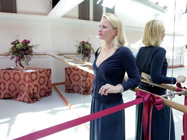 Ze slavnostního otevření nově zrekonstruovaného křídla Anenského areálu, ve kterém sídlí Balet Národního divadla. Ten má nyní 82 členů a hraje na čtyřech scénách okolo 150 představení ročně.