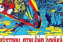 Část plakátu na 11. ročník Festivalu otrlého diváka v Praze.