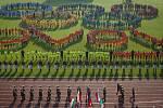 Z prvního dne celostátního finále OVOV (Odznak všestrannosti olympijských vítězů) na pražské Julisce.