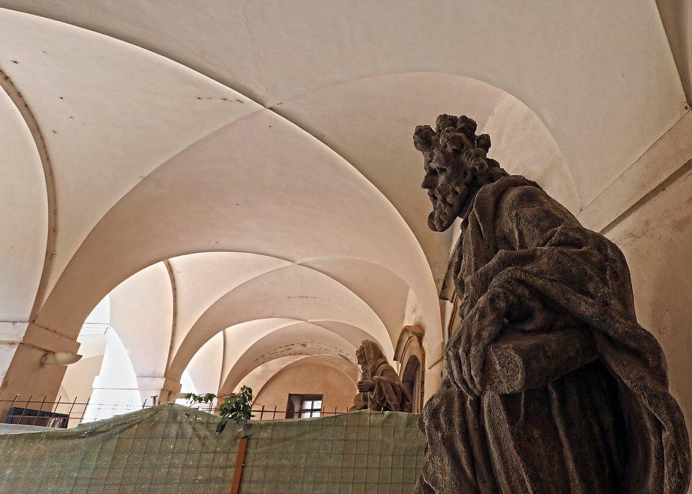 Rekonstrukce dominikánského kláštera u sv. Jiljí.