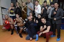 Herci z muzikálu Rocky.