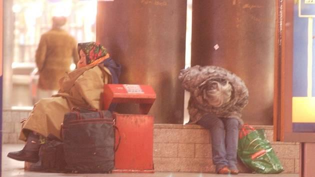 Bezdomovci. Ilustrační foto.