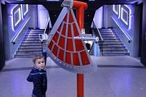 Vánoční prázdniny v Planetáriu v Královské oboře.