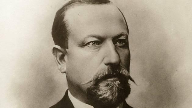 Starosta a podnikatel Matěj Hlaváček.