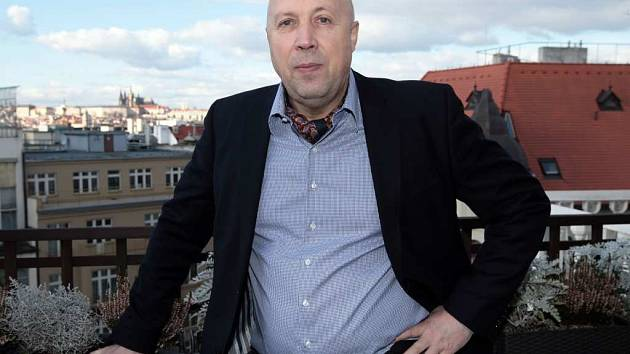Starosta Prahy 1 Oldřich Lomecký.