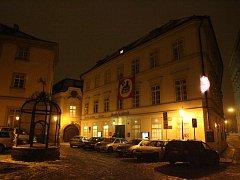 Divadlo Na Zábradlí v Praze.