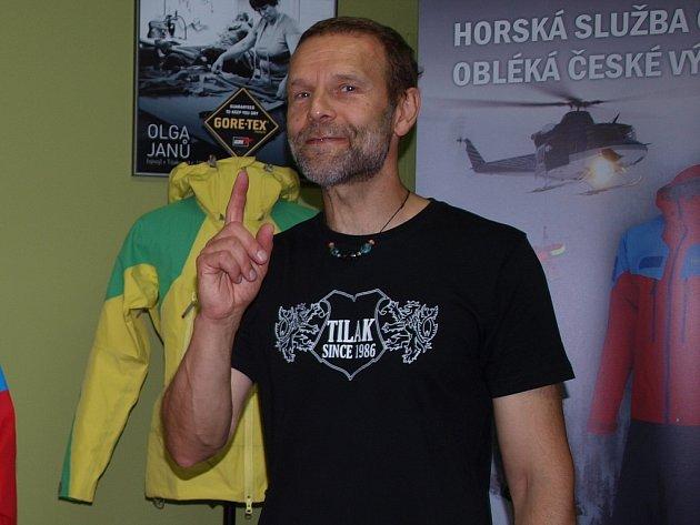 Bývalý reprezentant v horolezení a majitel outdoorové firmy Roman Kamler.