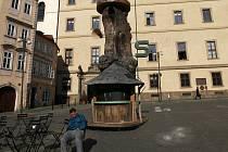 Prastánek Františka Skály na Malostranském náměstí,