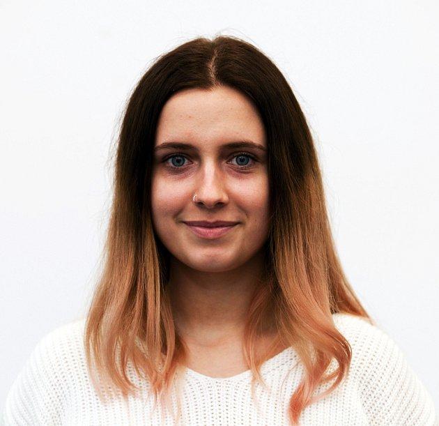 SOŠ administrativy - Kateřina Sauerová.
