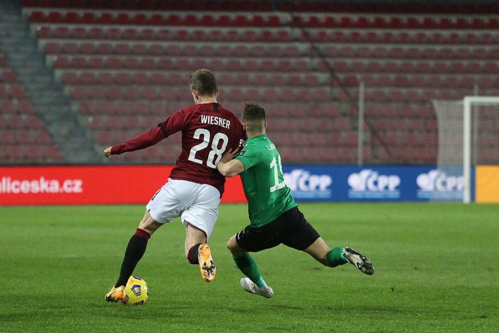 V odloženém utkání porazila Sparta Příbram 4:0.