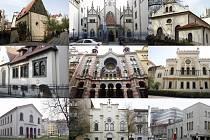 Pražské synagogy.