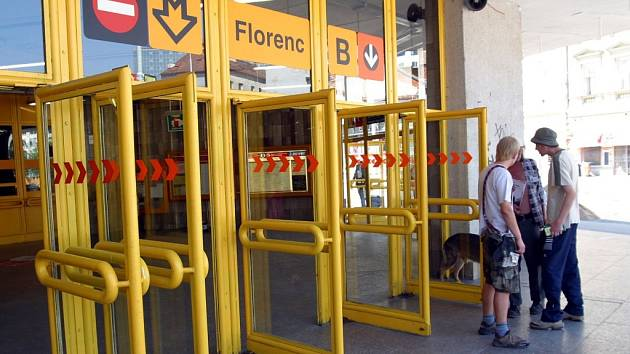 Stanice metra Florenc. Ilustrační foto.