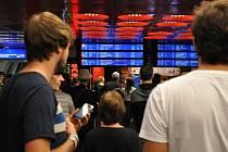 Zpoždění vlaků na Hlavním nádraží. Ilustrační foto.