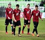 Fotbal Karviná - Sparta PrahaFoto: Aleš KreclSparta smutek