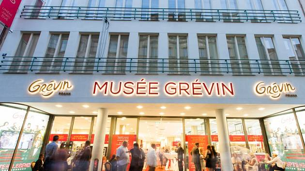 Muzeum voskových figurín Grévin v Praze.