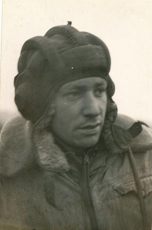 Tankista Tadeusz Oratowski.