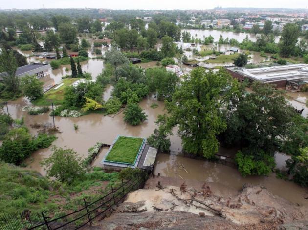 Povodně. Ilustrační foto