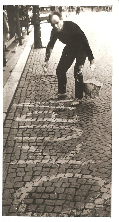 Manžel Josef Fidler, Karlovy Vary 21.8.1968.