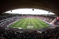 Sinobo Stadium, dříve Eden v pražských Vršovicích.