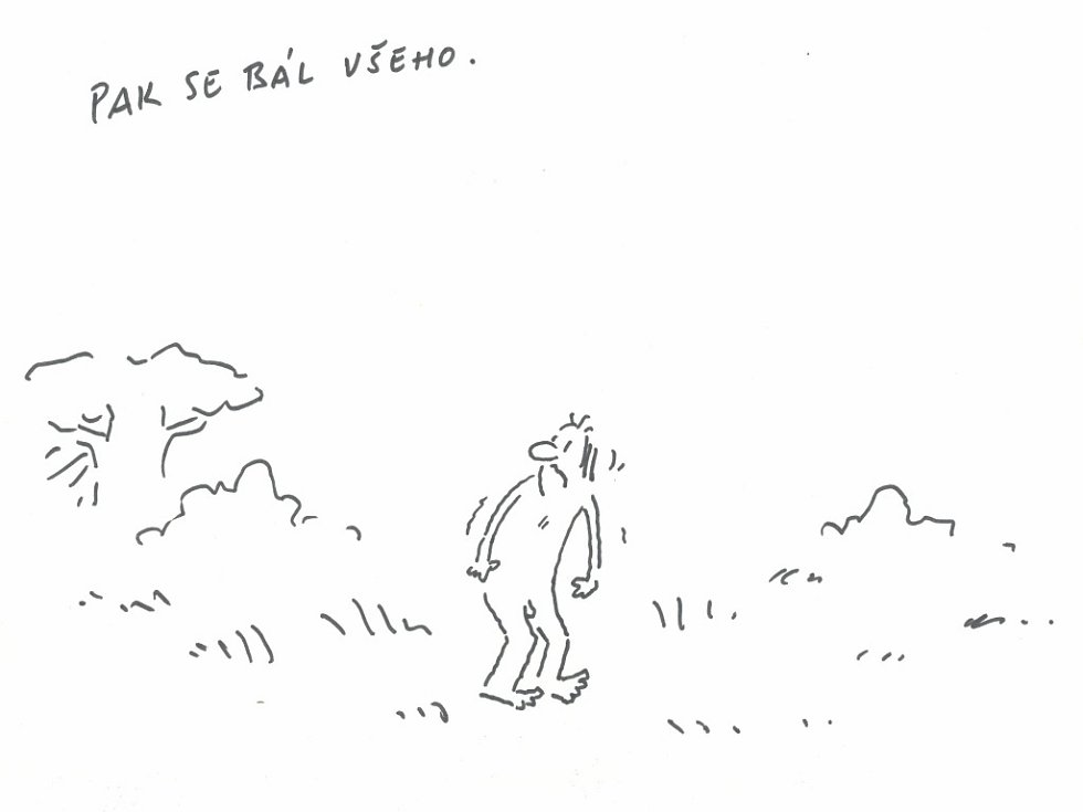 Prazsky Denik Kreslene Vtipy Ilustratora Vladimira Jiranka