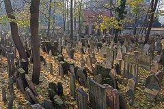 Na Starém židovském hřbitově podle legendy tančily mrtvé děti.