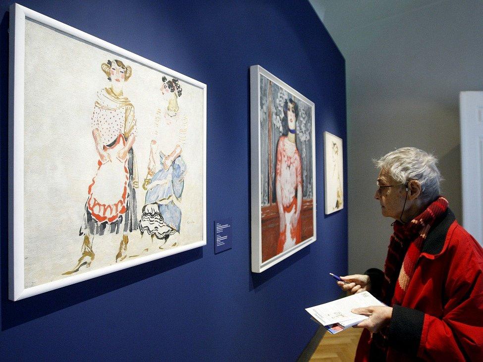 Zahájení výstavy Františka Kupky