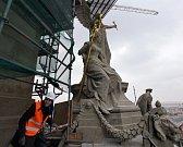 Prohlídka rekonstrukce Národního muzea.