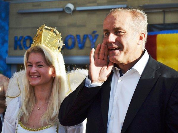 Pavel Sehnal, předseda představenstva společnosti SPGroup, která provozuje čestlický akvapark.