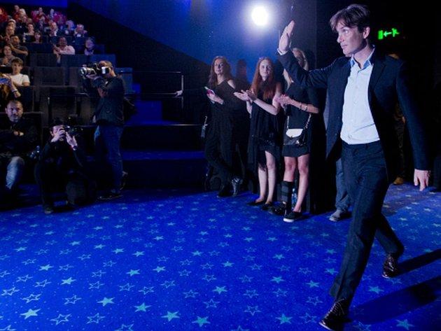 Představitel jedné z hlavních rolí Cillian Murphy před premiérou filmu Anthropoid.