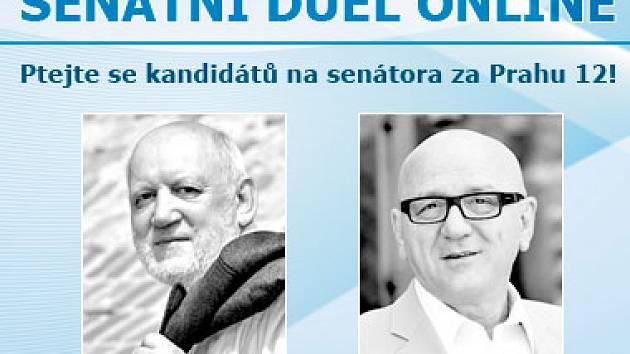 Senátní duel s kandidáty do Senátu za Prahu 12
