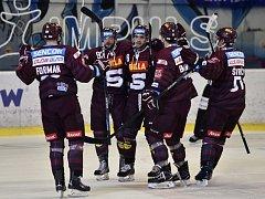 Hokejisté HC Sparty Praha. Ilustrační foto.