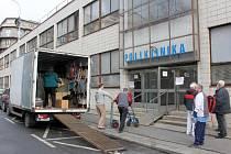 Poliklinika Prahy 7 je konečně opravená.