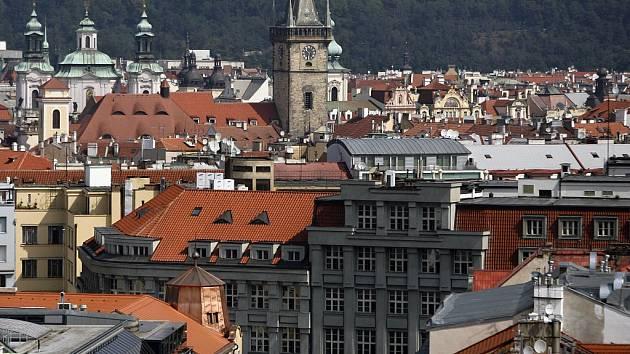 Sídlo magistrátu hl. města Prahy ve Škodově paláci v Jungmannově ulici v Praze 1.