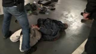 policejní zatčení videa