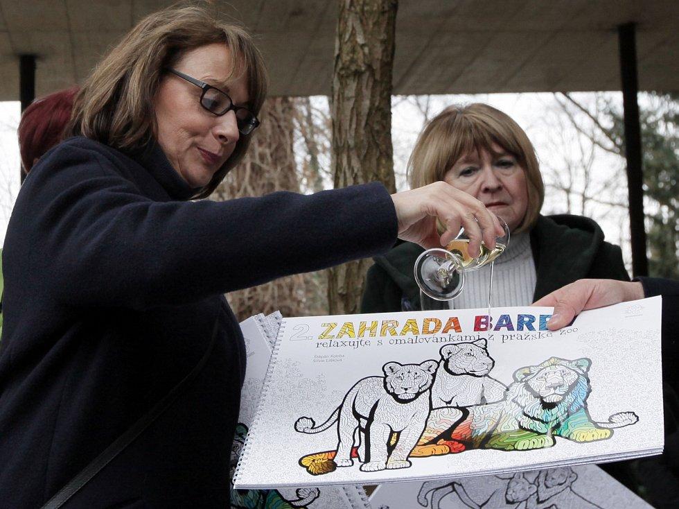 Zahájení 85.sezony Zoo Praha křest antistresových omalovánek