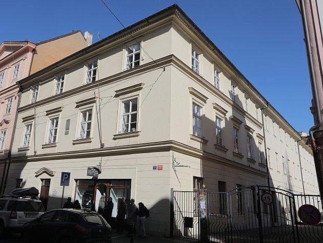 SPŠST v Panské ulici na Praze 1.