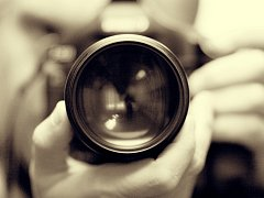 Fotograf. Ilustrační foto.