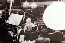 Z výstavy fotografií Petra Našice (1964) dokumentující natáčení filmu AMADEUS Miloše Formana